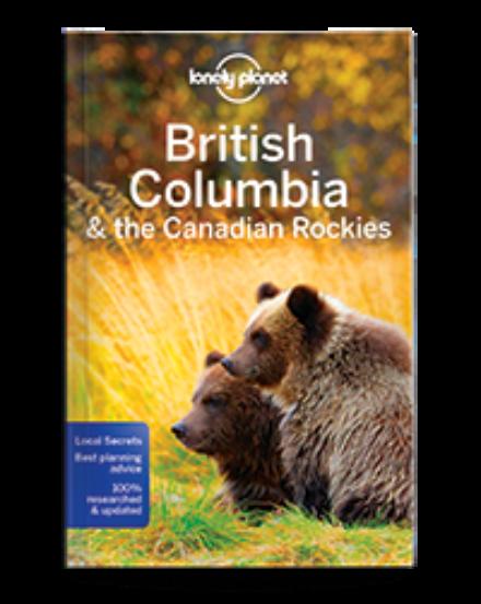 Cartographia  - British Columbia és a Kanadai Sziklás-hegység útikönyv