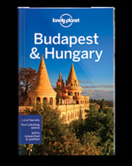 Cartographia  - Budapest & Magyarország útikönyv (angol) Lonely Planet
