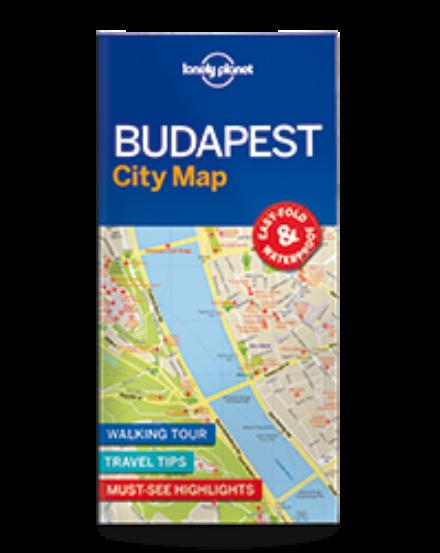 Cartographia  - Budapest laminált térkép Lonely Planet