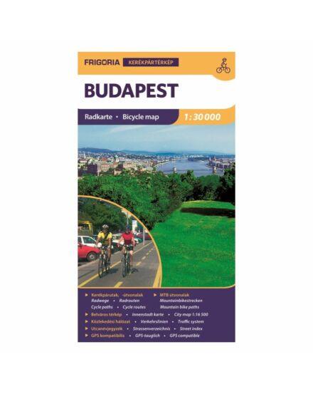 Cartographia  - Budapest kerékpáros térkép