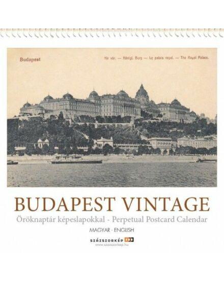 Cartographia  - Budapest Vintage öröknaptár