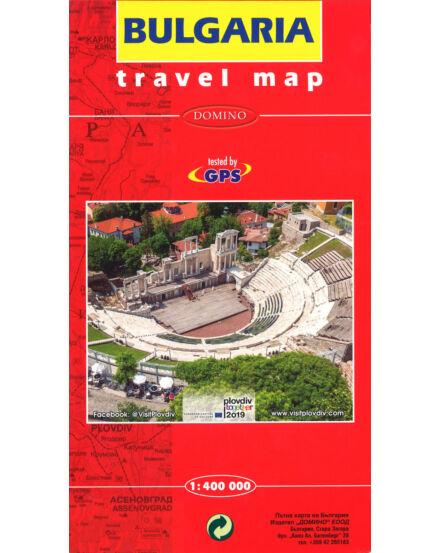 Cartographia  - Bulgária autótérkép 1:400e (lux)