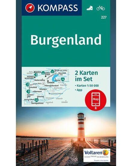 Cartographia  - K 227 Burgenland turistatérkép