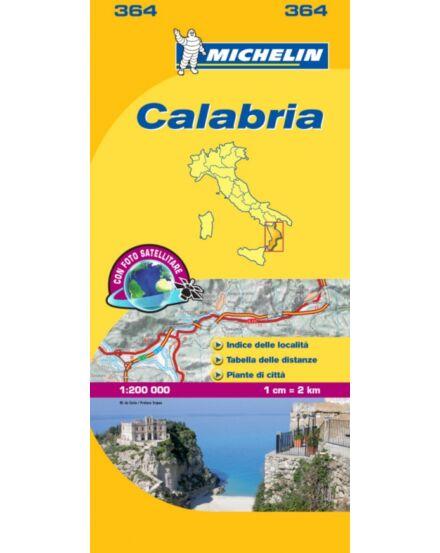 Cartographia  - Calabria térkép 364 Michelin