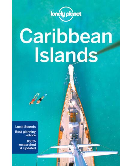 Karib-szigetek útikönyv (angol) Lonely Planet