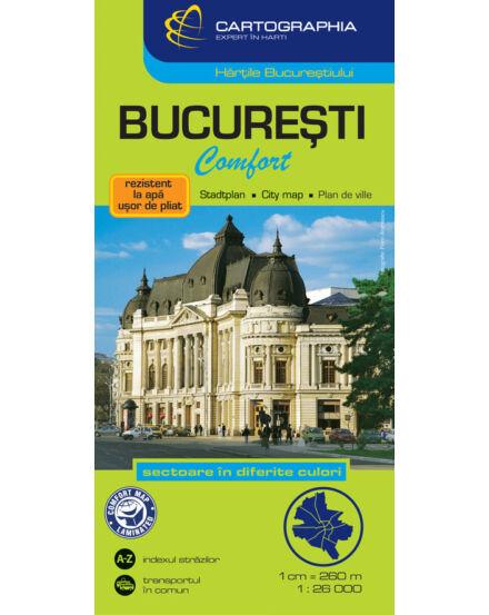 Cartographia  - Bukarest térkép