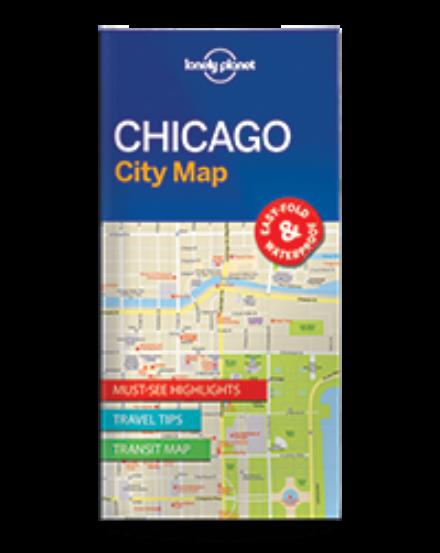 Cartographia  - Chicago laminált térkép