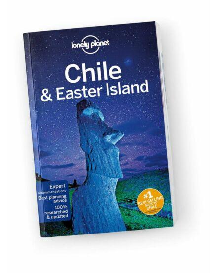 Cartographia  - Chile és a Húsvét-sziget útikönyv (angol) Lonely Planet