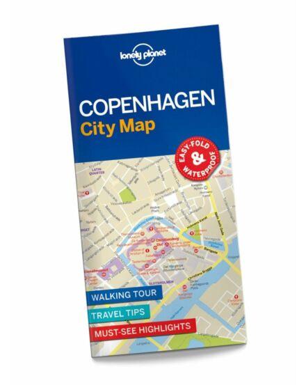 Cartographia  - Koppenhága laminált térkép Lonely Planet