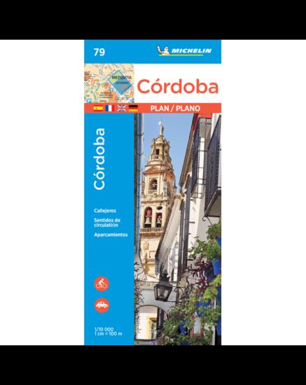 Cartographia  - Cordoba várostérkép 9079 - Michelin