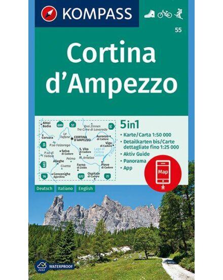Cartographia  - Cortina d'Ampezzo turistatérkép