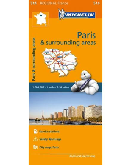 Cartographia  - Francio.régiótkp - Ile de France, Párizs környéke