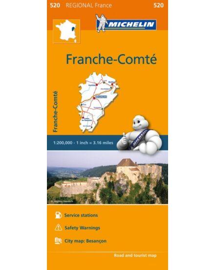 Cartographia  - Franche Comte régiótérkép