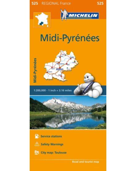 Cartographia  - Midi Pireneusok régiótérkép