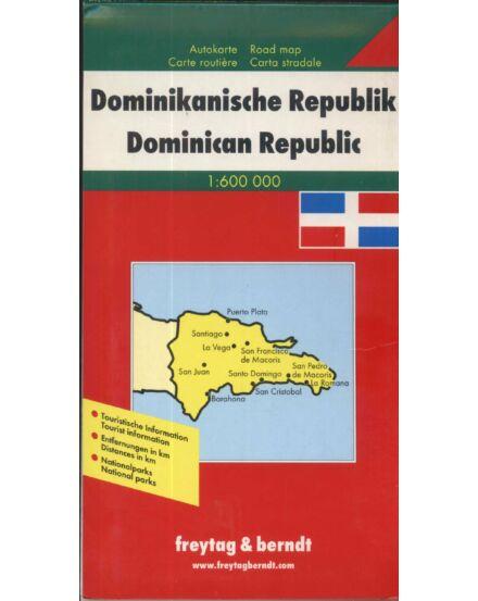 Cartographia  - Dominikai Köztársaság térkép