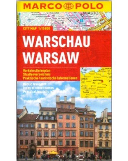 Cartographia  - Varsó várostérkép