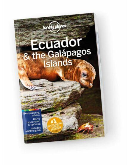 Cartographia  - Ecuador és a Galápagos-szigetek útikönyv Lonely Planet