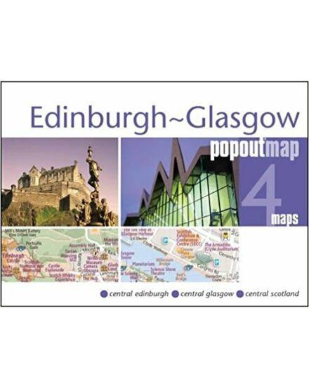 Cartographia  - Edinburg-Glasgow várostérkép