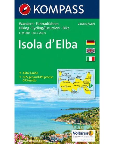 Cartographia  - K 2468 Elba szigete (Isola d'Elba) turistatérkép