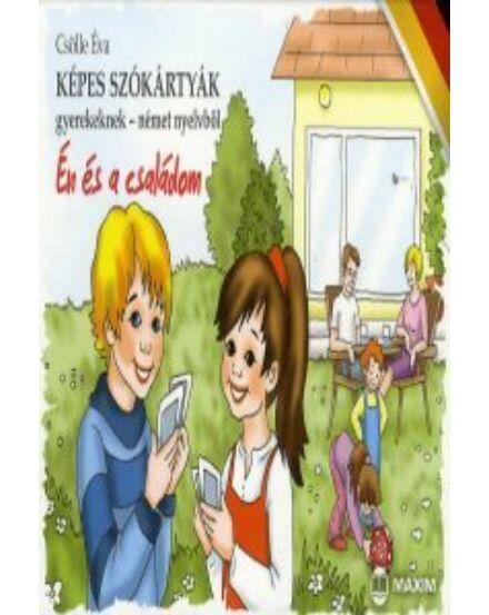 Cartographia  - Képes szókártyák gyerekeknek német nyelvből, Én és a családom