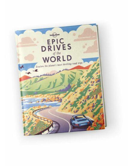 Cartographia  - Epic drives of the World útikönyv Lonely Planet