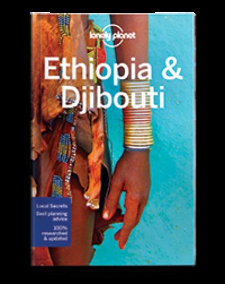 Cartographia  - Etiópia, Dzsibuti, Szomália útikönyv Lonely Planet