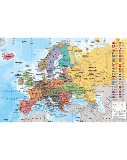 Cartographia  - Európa politikai tkp. ( Collins ) - hablapos