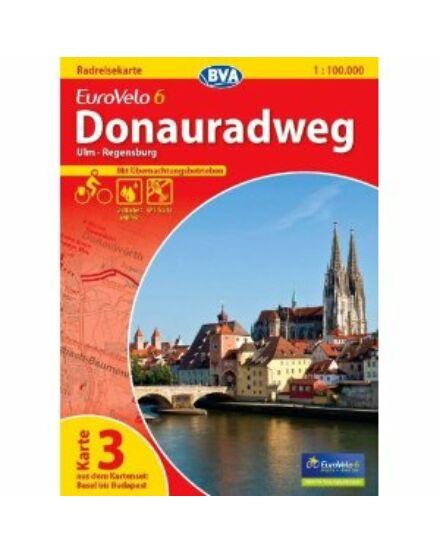 Cartographia  - Duna menti kerékpárút térkép