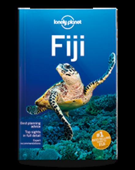 Cartographia  - Fidzsi-szigetek útikönyv (angol) Lonely Planet