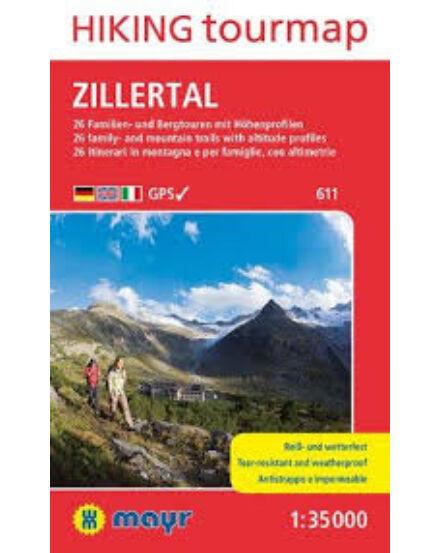 Cartographia  - K 611 Zillertal turistatérkép