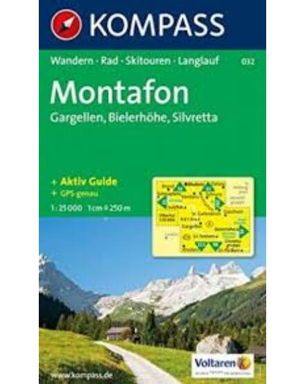 Cartographia  - K 032 Alpenpark Montafon turistatérkép