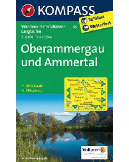 Cartographia  - K 05 Oberammergau turistatérkép