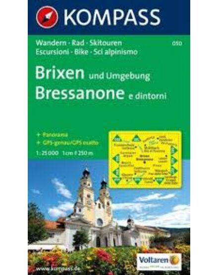 Cartographia  - K 050 Brixen és környéke turistatérkép