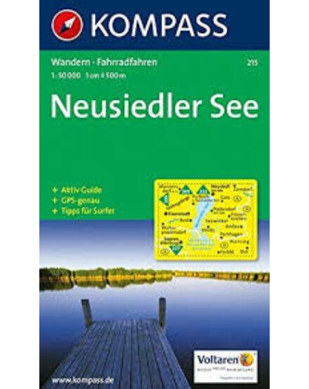 Cartographia  - K 215 Fertő-tó (Neusiedler See) turistatérkép