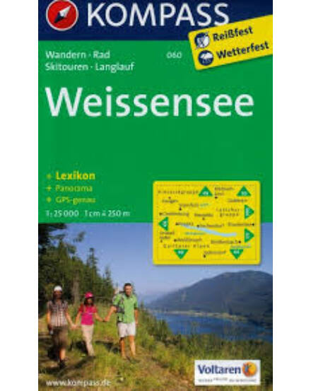 Cartographia  - K 060 Weissen See turistatérkép