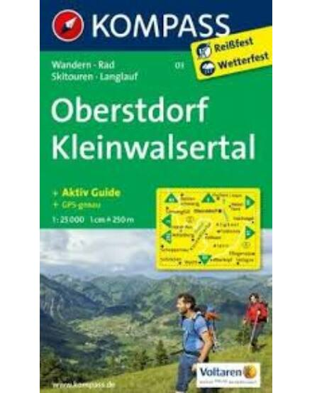 Cartographia  - K 03 Oberstdorf turistatérkép