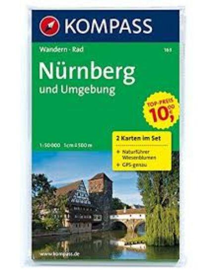 Cartographia  - K 163 Nürnberg és környéke turistatérkép