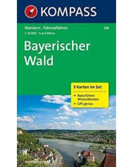 Cartographia  - K 198 Bajor erdő (Bayerischer Wald) turistatérkép