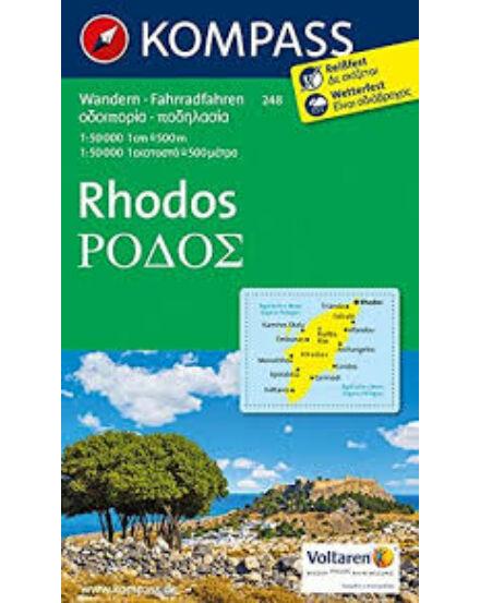 Cartographia  - K 248 Rodosz (Rhodos) térkép