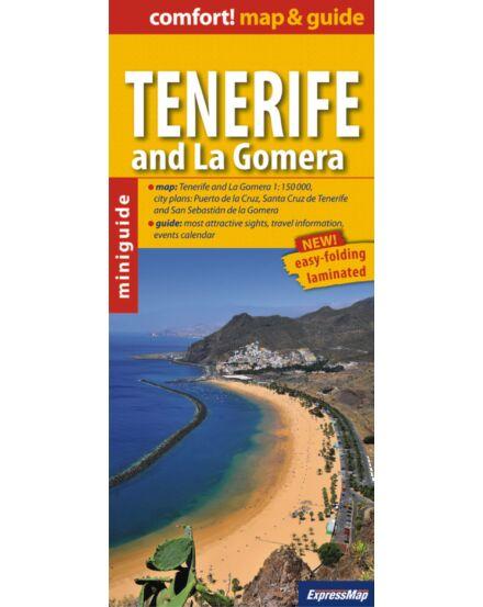Cartographia  - Teneriffe és La Gomera térkép