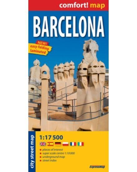 Cartographia  - Barcelona térkép