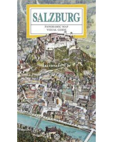Cartographia  - Salzburg Panoráma térkép