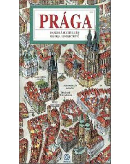 Cartographia  - Prága Panoráma térkép