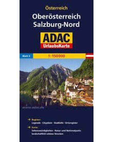 Cartographia  - Felső-Ausztria, Salzburg-Észak szabadidőtérkép