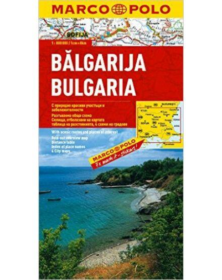 Cartographia  - Bulgária térkép
