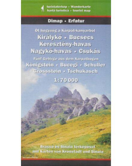 Cartographia  - Öt hegység a Kárpát-kanyarból turistatérkép