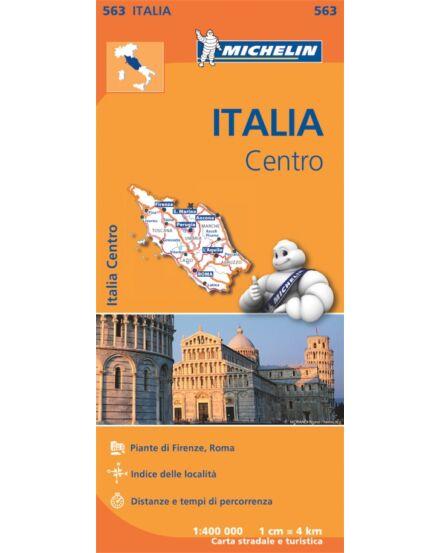 Cartographia  - Olaszország-Közép résztérkép (563)