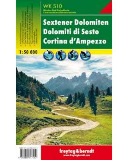 Cartographia  - WKS10 Sextener Dolomiten turistatérkép