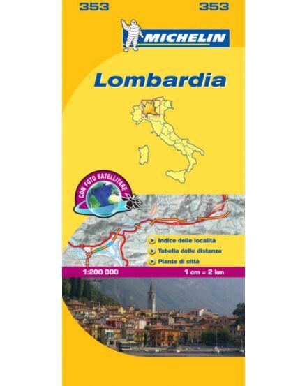 Cartographia  - Olaszország résztérkép: Lombardia (353)