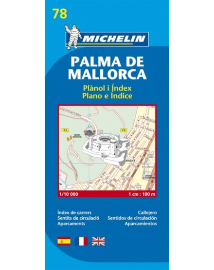 Cartographia  - Palma de Mallorca várostérkép (78)